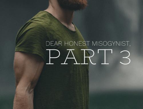 Honest Misogynist Part 3