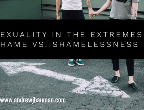 Sexuality in the Extremes:  Shame vs. Shamelessness