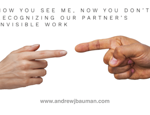 Now You See Me, Now You Don't: Recognizing Our Partner's Invisible Work