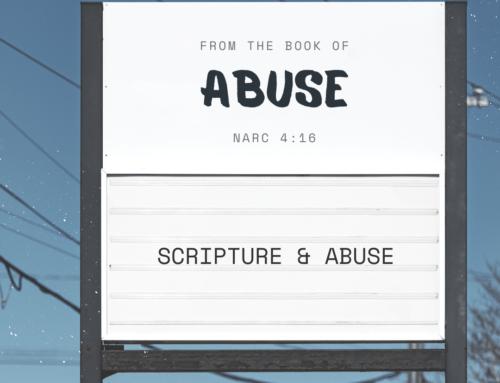 Scripture & Abuse